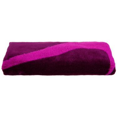 Toalha Nike Sports Towel 38cm x 80cm - Bordo com Pink
