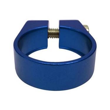 Abraçadeira de Selim Cly Components 31.8mm em Alumínio - Azul