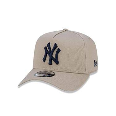 Boné New Era 940 Aba Curva Yankees - Snapback 54eaa3782a2