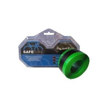 """Fita Anti-furo Safetire 35mm Verde - Aro 26"""" / 27,5"""" / 29"""" - Par"""