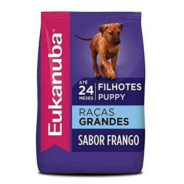 Ração Eukanuba Para Cães Filhotes de Raças Grandes - 12kg