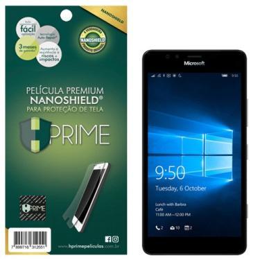 Pelicula HPrime NanoShield para Nokia Lumia 950, Hprime, Película Protetora de Tela para Celular, Transparente