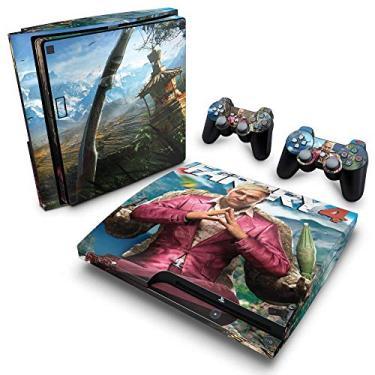 Skin Adesivo para PS3 Slim - Far Cry 4