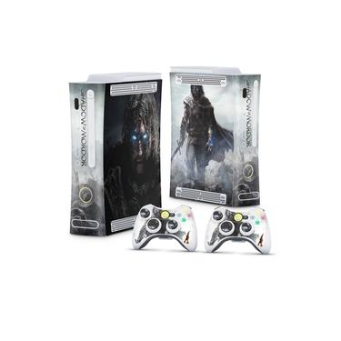 Skin Adesivo para Xbox 360 Fat Arcade - Middle Earth: Shadow Of Mordor