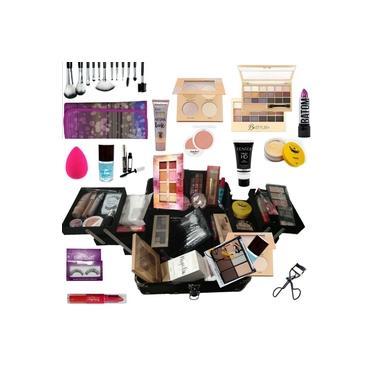 Imagem de Maleta Maquiagem Profissional Completa Ruby Rose