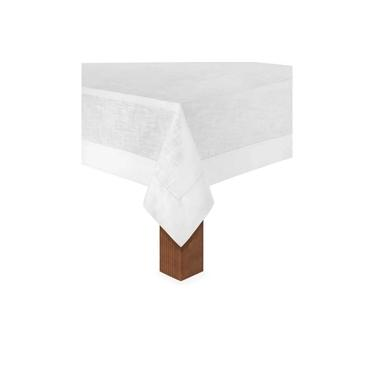 Imagem de Toalha de Mesa 6 Lug 1,60x2,20 Coloratta Branco Copa&Cia
