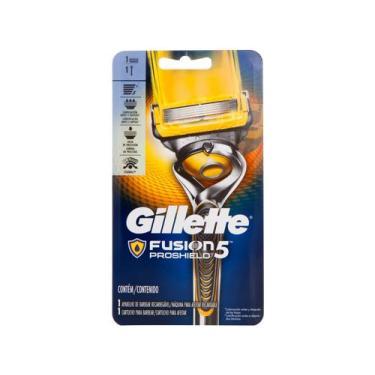 Imagem de Aparelho De Barbear Gillette Fusion5 - Proshield