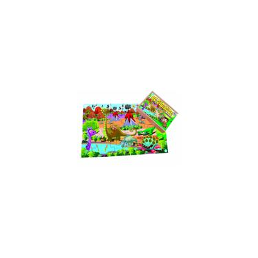 Imagem de Quebra-Cabeça Infantil Gigante Dinossauros - 24 peças