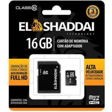 Cartao De Memoria Sd/Sdhc Classe 10 - 16Gb Elshaddai