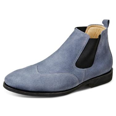Bota Sandro Moscoloni Classic Chelsea Jeans  masculino