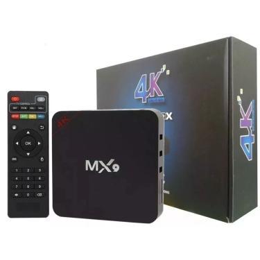 Aparelho 5G Transforma Tv Comun Em Smart Tv Mx9  5G+16G 4K Android 8.1 Varios Apps.