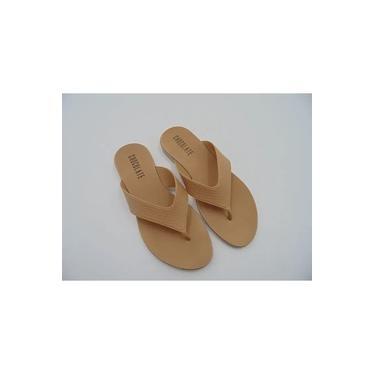 Sandália Rasteira Chocolate Shoes Plástica 530.003