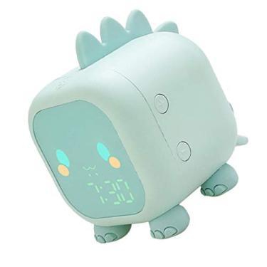 Imagem de WINOMO Despertador digital com LED, despertador USB, luz despertadora, despertador infantil