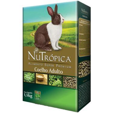 Ração Nutrópica Coelho Adulto - 1,5 Kg