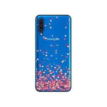 Capa Personalizada Samsung Galaxy A50 A505 - Corações - TP48