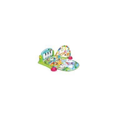 Imagem de Tapete de Atividades Musical Piano para Bebês - Verde - Dican