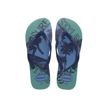 Chinelo Havaianas Masculino Top Athletic Tamanho 37/38 Azul