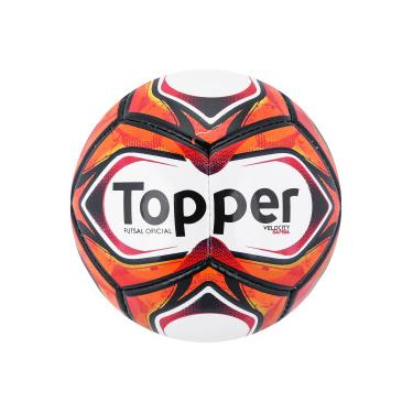 Bola de Futsal Topper Samba TD2 2018 - BRANCO VERMELHO Topper 796981cd9cfc0