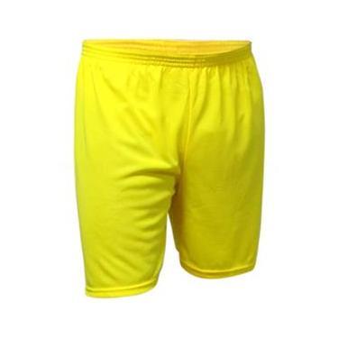 Calção Futebol Kanga Sport - Calção Amarelo - P