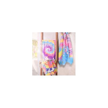 Imagem de Toalha De Banho Infantil Tie Dye Estilo Do Momento Algodão Sortido - Bene Casa