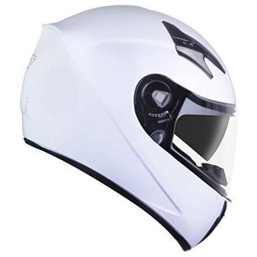 Capacete Ebf X Troy Solid 60/Branco