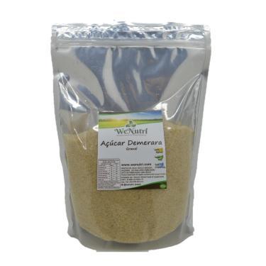 Açúcar Demerara Orgânico 500G Wenutri