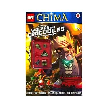 Imagem de Lego Legends Of Chima - Wolves And Crocodiles - Book With Minifigure