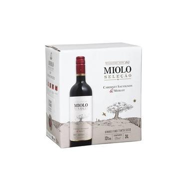 Vinho Miolo Seleção Cabernet / Merlot Bag in Box 3 Litros