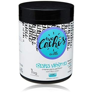 Imagem de Creme para Pentear Crespos Vibrantes Amo Cachos, Griffus Cosméticos, 1 Kg