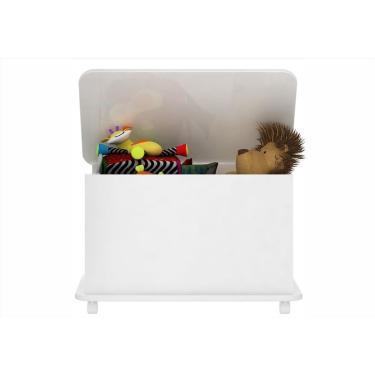Caixa de Brinquedos Branco - Completa Moveis