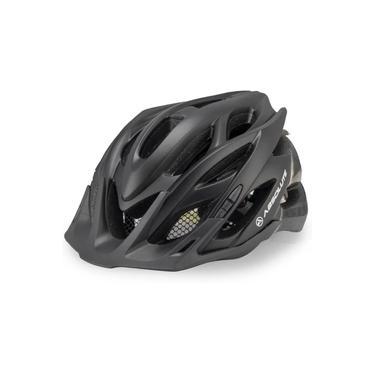 Capacete Ciclismo Bike Absolute Wild Led Preto Fosco M / G