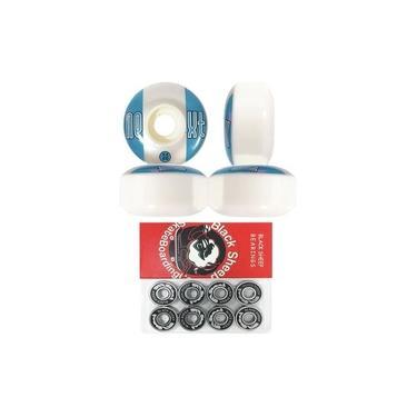 Roda Para Skate Next Il 53mm 100a + Rolamento Black Sheep Red