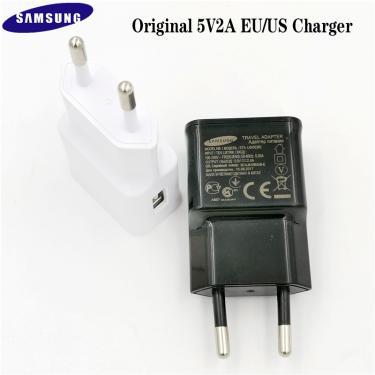 Originais Galáxia Samsung Carregador USB 5V 2A UE/EUA carregador de Parede Adaptador Para Galaxy A5