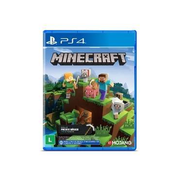 Minecraft starter collection Ps4 legendado em português