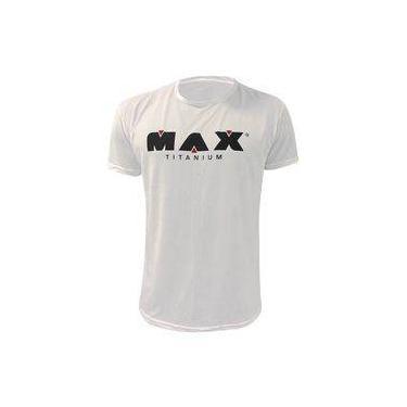 Camiseta Tátil - Max Titanium - Branca 5a84da1219de8