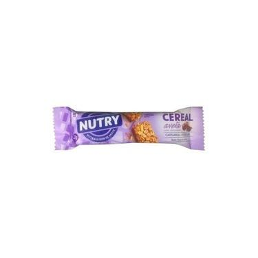 Barra de Cereal Avelã c/Chocolate Nutry 22g