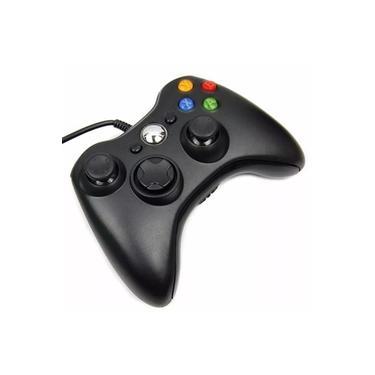 Controle Joystick X box 360 com fio