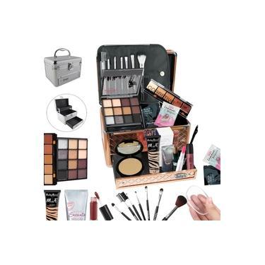 Imagem de Maleta Completa com Maquiagem + Cortesia da Loja - BZ19
