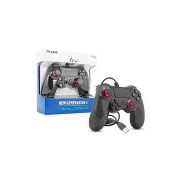 Controle com Fio PS4 FR-225C - Feir
