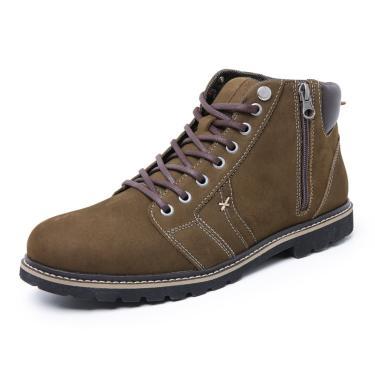 Bota Sandalo Adventure Nobuck Militar  masculino
