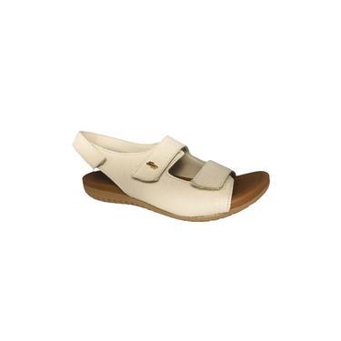 Sandalia Rasteira Usaflex R1855 Cor Gelo