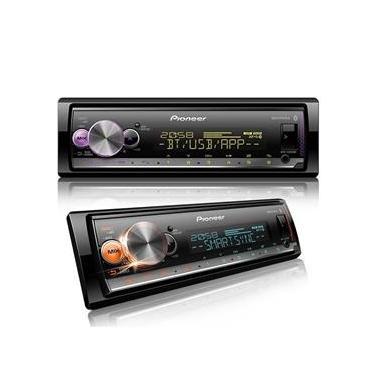 Media Receiver Pioneer Mvh-x3000br Bluetooth Usb Controle