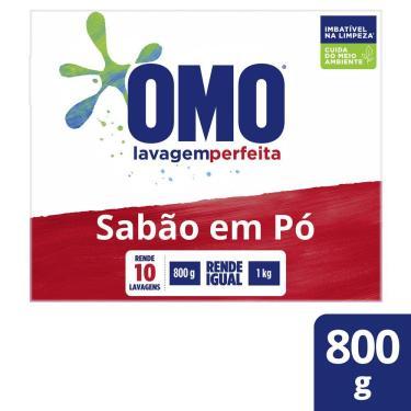 Imagem de Sabão em Pó Omo Lavagem Perfeita 800g