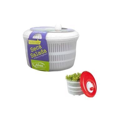 Seca Salada Secador Centrifuga Legumes Verduras Higienico Alves 4,5 litros