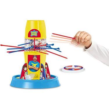 Imagem de Jogo Tira Pega Varetas Luccas Neto Original Menino Menina Raciocínio Equilíbrio Brinquedo Infantil Elka