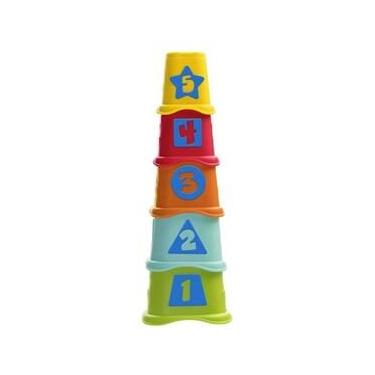 Imagem de Torre Copos dos Números Smart 2 Play Brinquedo Chicco