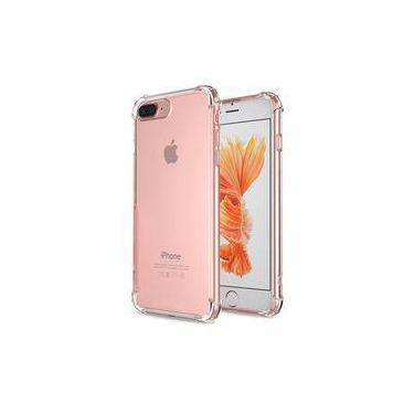 bcd54def1 Capinha Para Iphone 7 Plus   8 Plus Tpu Anti Impacto Transparente