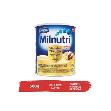 Milnutri Vitamina De Frutas Composto Lácteo Infantil Lt 380g