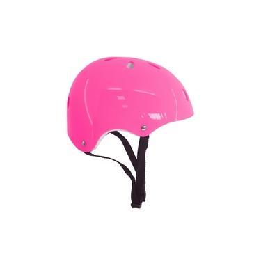 Imagem de Capacete Infantil Proteção Skate Bicicleta Feminino Rosa Dm