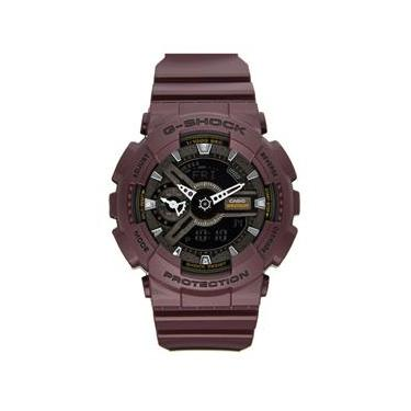 eed1eb6870b Relógio Masculino Casio G-Shock Modelo GMAS110MC-6A - A prova d  água